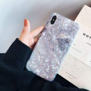 Marble shell pattern mobile phonecase XS Max/XR/iPhoneX/7p/6s wholesale nihaojewelry NHFI224644's discount tags
