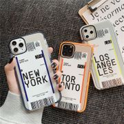 creative ticket mobile phone shell iPhone 11 Pro/11Promax/8plus soft shell wholesale nihaojewelry NHFI224689