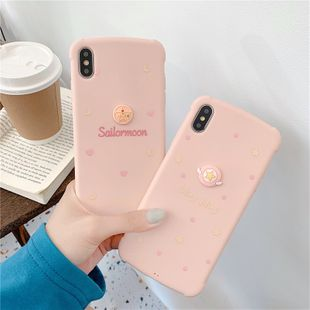 Three-dimensional pink Apple 11 Pro mobile phone shell Apple XS MAX XR 7plus TPU soft phone case NHFI224698's discount tags