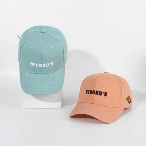 Sun hats ladies hats men's summer caps embroidered letters sunscreen sun hats wholesale nihaojewelry NHTQ224817's discount tags