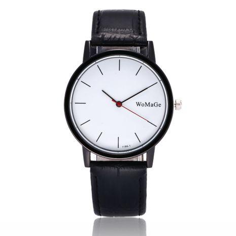 Nueva moda simple hombres y mujeres reloj clásico cinturón de cuarzo reloj de negocios estudiante reloj de hombre al por mayor nihaojewelry NHSY224905's discount tags