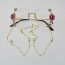 Frameless diamond sunglasses gradient lenses UV protection sunglasses fashion wholesale nihaojewelry NHNT224917