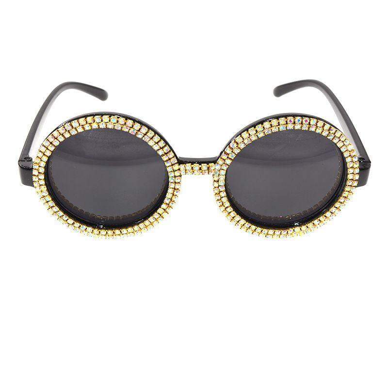 New Fashion Personalized Diamond Sunglasses Windproof Sunglasses Women wholesale nihaojewelry NHNT224927
