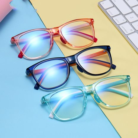 new children's anti-blue light glasses classic two-color computer glasses fashion learning mirror wholesale nihaojewelry NHFY224931's discount tags