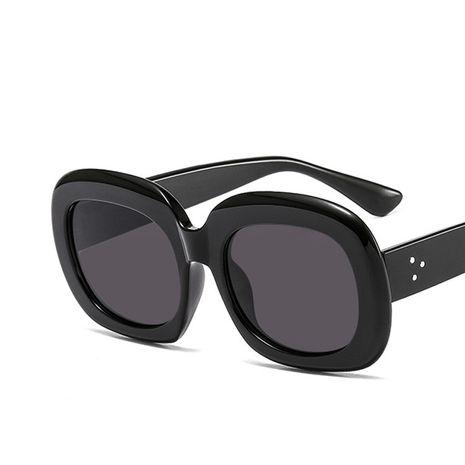 gafas de sol ovales moda calle tiro nuevas señoras calle tiro protección UV gafas de sol retro al por mayor nihaojewelry NHKD224951's discount tags