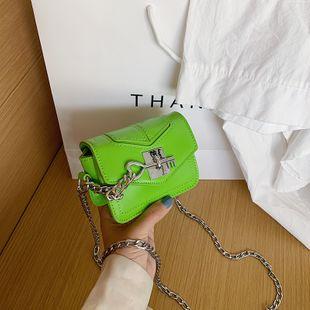 nouvel été serrure à clé sac bandoulière marée chaîne sauvage mini épaule petit sac carré en gros nihaojewelry NHPB225057's discount tags