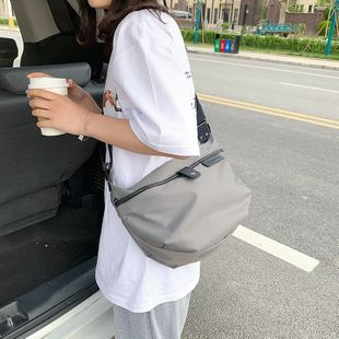 nouvelle mode coréenne étanche Oxford tissu sac à bandoulière simple léger grande capacité casual messenger sac en gros nihaojewelry NHPB225062's discount tags