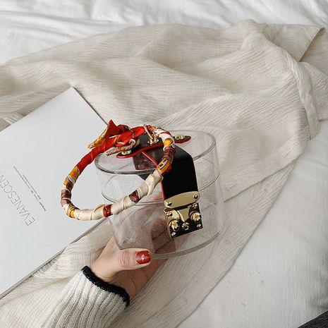 Senior sense bolso pequeño verano nueva moda transparente messenger bag nicho acrílico bolso venta al por mayor nihaojewelry NHJZ225074's discount tags