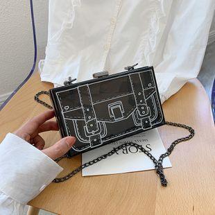 Été petit sac femmes sac mode coréenne épaule petit sac carré sac de messager en gros nihaojewelry NHJZ225087's discount tags