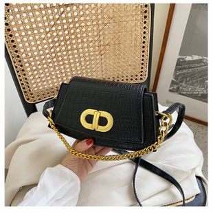 summer new bag armpit bag shoulder messenger bag chain portable small bag wholesale nihaojewelry NHGA225128's discount tags
