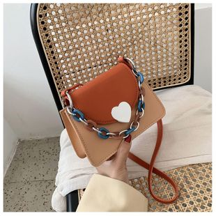 Ladies bag new summer fashion chain shoulder messenger bag wild square bag wholesale nihaojewelry NHTC225193's discount tags