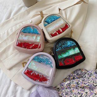 été nouveau sauvage mignon sequin hit couleur sac à bandoulière marée chaîne de mode coréenne bandoulière sac en gros nihaojewelry NHPB225243's discount tags
