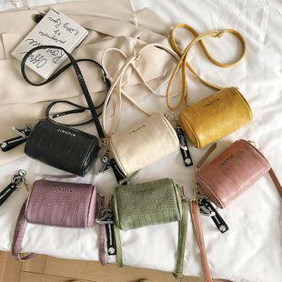 nouvel été sauvage motif de crocodile mini sac à bandoulière rétro niche pendentif Messenger sac en gros nihaojewelry NHPB225282's discount tags