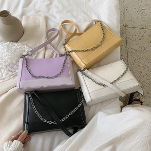 nouvel été mode coréenne couleur unie chaîne portable seau sac sauvage décontracté épaule unique aisselle sac en gros nihaojewelry NHPB225284's discount tags
