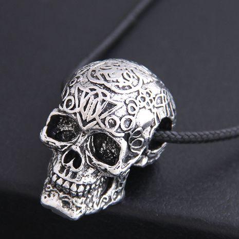 nouveau mode hommes dominateur rétro crâne personnalité collier en gros nihaojewelry NHSC225558's discount tags