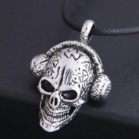 nouveau mode hommes dominateur rétro crâne personnalité collier en gros nihaojewelry NHSC225557's discount tags