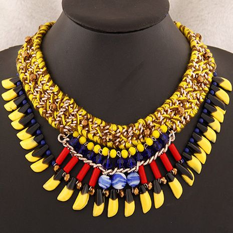 new trend wild bohemian style collar necklace wholesale nihaojewelry NHSC225547's discount tags