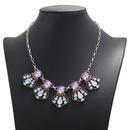 new jewelry diamond elegant womens necklace clavicle chain wholesale nihaojewelry  NHJJ225334