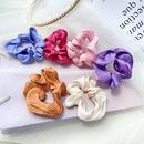 cheveux corens chouchous mode nouvelle couleur unie vague flash dame cheveux anneau cravate prle bande de caoutchouc cheveux corde tte en gros nihaojewelry NHPJ225475
