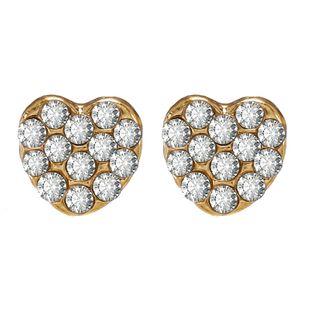 Corea amor pendientes temperamento sentido superior nuevos pendientes retro francés pendientes de corazón de durazno al por mayor nihaojewelry NHPF225511's discount tags