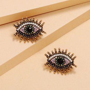 Corea nueva moda tendencia ojos pendientes simples pendientes retro al por mayor nihaojewelry NHKQ225538's discount tags