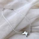 Original design new butterfly punk wind tassel choker simple asymmetric necklace wholesale nihaojewelry NHYQ225589