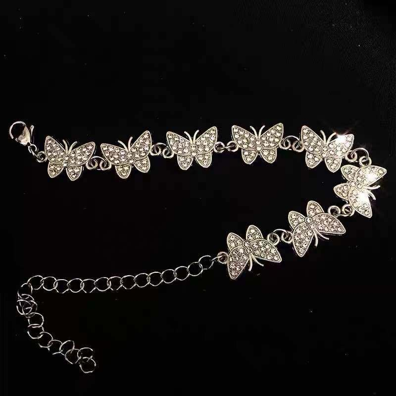 customized bracelet fashion new simple butterfly Minimum order of one hundred  nihaojewelry wholesale NHYQ225652
