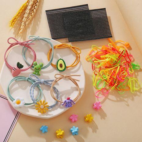 Mode coréenne mignon cravate cheveux bande de caoutchouc cheveux corde coiffe Mori cheveux anneau ensemble en gros nihaojewelry NHPJ225688's discount tags