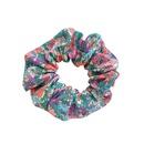 Korean girl floral lattice hair circle French retro hair rope wholesale nihaojewelry NHOF225743
