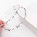 New fashion alloy diamond Neptune simple hair hoop girl street hair accessories wholesale nihaojewelry NHWJ225767