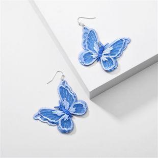 modelos de explosión de joyería de moda Eugen hilados de encaje simulación mariposa pendientes al por mayor nihaojewelry NHLU225815's discount tags