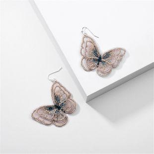 modelos de explosión de joyería de moda Eugen hilados de encaje simulación mariposa pendientes al por mayor nihaojewelry NHLU225830's discount tags