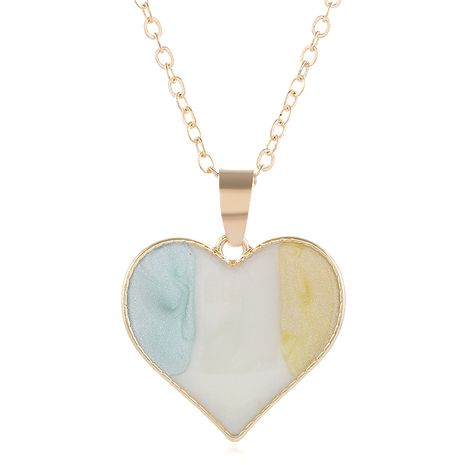Mode coréenne style doux amour simple collier en gros nihaojewelry NHSC226299's discount tags