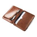 new Korean creative PU leather mens magic wallet business card coin purse wholesale nihaojewelry NHBN226161