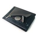 Korean new creative PU wallet metal dollar wallet short wallet zipper coin purse wholesale nihaojewelry NHBN226165