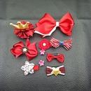 New Korean childrens headdress hair accessories retro side clip crown allinclusive hair clip hairpin jewelry set gift set NHSA226583