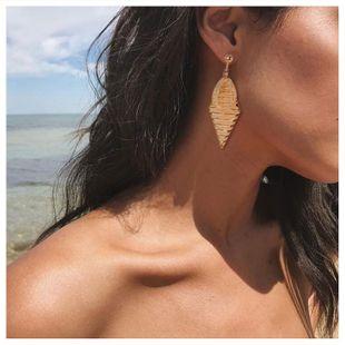 Exaggerated long tassel earrings fashion diamond metal earrings wholesale nihaojewelry NHCT226690's discount tags