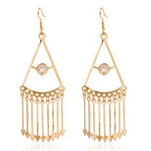 Alloy tassel earrings wild gold-plated geometric earrings wholesale nihaojewelry NHCT226695's discount tags