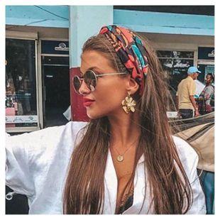 simple handmade flower earrings fashion wild earrings wholesale nihaojewelry  NHCT226696's discount tags