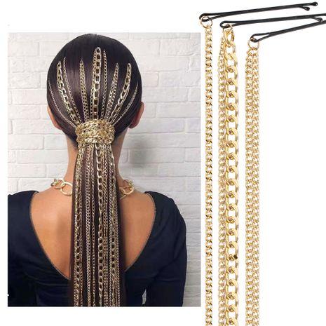 accessoires pour cheveux chaîne de cheveux chaîne de cheveux pour femmes vague mode coiffure accessoires pour cheveux NHCT226759's discount tags