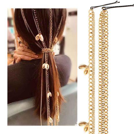 accessoires de cheveux chauds nouveau gland en métal accessoires de cheveux chaîne de cheveux cheveux plomb chaîne coiffe NHCT226782's discount tags