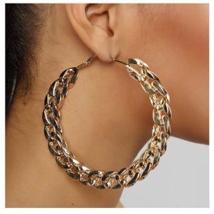 women hoop earrings fashion retro geometric round metal earrings NHCT226786's discount tags