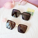 large frame sunglasses fashion sunglasses square glasses trend silver edge sunglasses wholesale nihaojewelry NHBA226839
