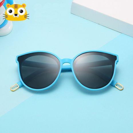 new fashion silicone children polarized sunglasses anti-ultraviolet wholesale nihaojewelry NHBA226848's discount tags