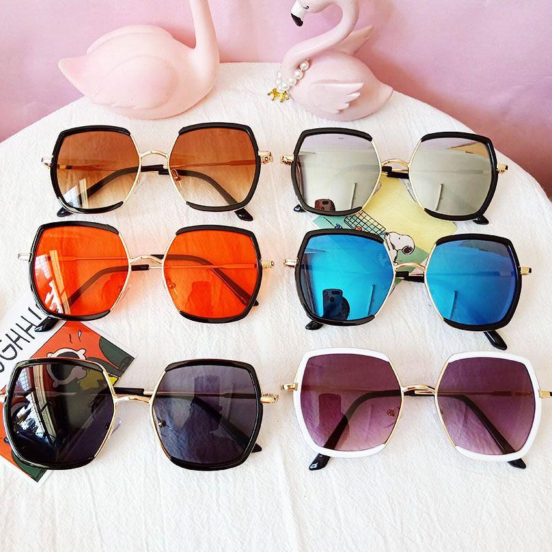 Childrens sunglasses trendy fashion baby sunglasses UV protection boys and girls glasses new box sunglasses wholesale nihaojewelry NHBA226853
