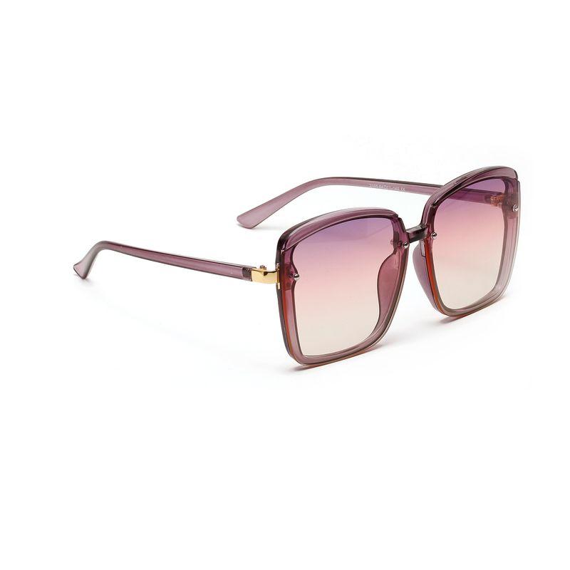 square half metal rivets fashion retro sunglasses men big frame new sunglasses women wholesale nihaojewelry NHXU226866