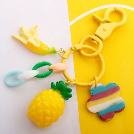 Simulation Fruit Keychain Chinese Cabbage Pendant Lady Bag Charm Paint Dog Buckle Pendant wholesale nihaojewelry NHDI226926's discount tags