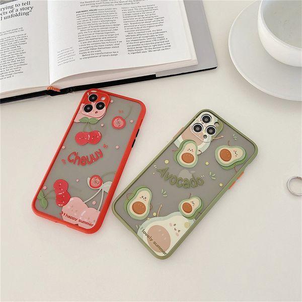 Avocado cherry 11Pro/Max/XS/SE2/XR mobile phone case wholesale nihaojewelry NHFI227020