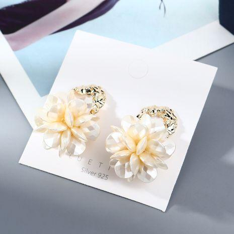 plaqué or créatif sauvage exagéré mode tendance personnalité S925 argent aiguille en gros  boucle d'oreille nihaojewelry NHPS227051's discount tags