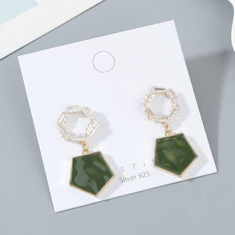 véritable mode plaqué or créative modèles d' populaires S925 aiguille d'argent en gros boucle d'oreille nihaojewelry NHPS227054's discount tags